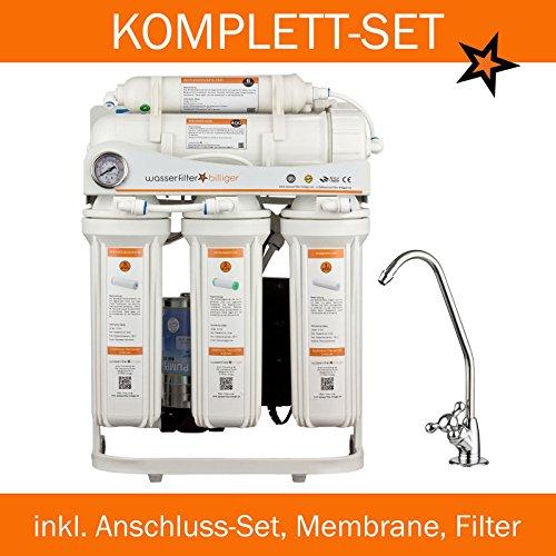 Preisvergleich Produktbild Directquell Umkehrosmose Directflow Wasserfilter. KEIN TANK MEHR NÖTIG!