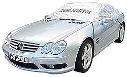 PEARL Faltgarage: Premium Auto-Halbgarage für Mittelklasse, 360 x 136 x 58 cm (Auto-Planen)