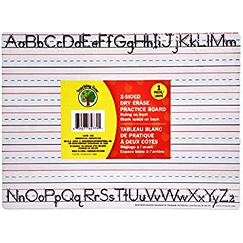 Teaching Tree Manuscript Alphabet Bulletin Back to School Dry Erase Board Set Creative Strips School Office Resources Scholastic Teacher Teacher's Classroom Pre School Toddler Elementary Kindergarten by Back to School