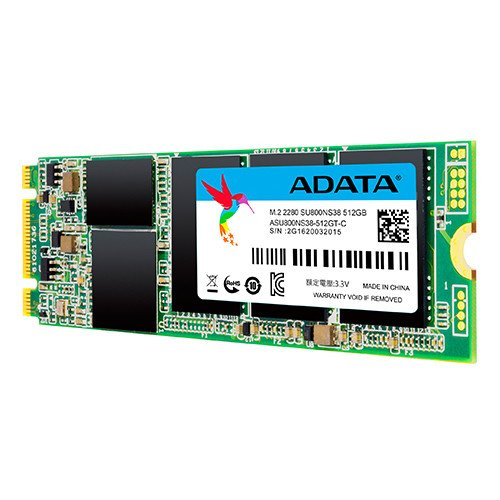 Price comparison product image ADATA ASU800NS38-512GT-C Serial ATA III solid state drive