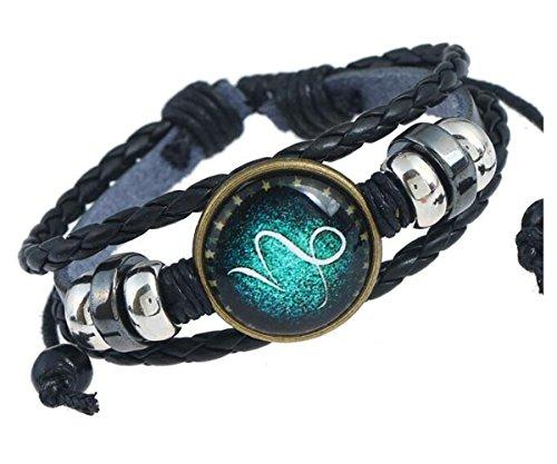 MeiPing 12 Sternzeichen Sternzeichen Logo Charms Armband
