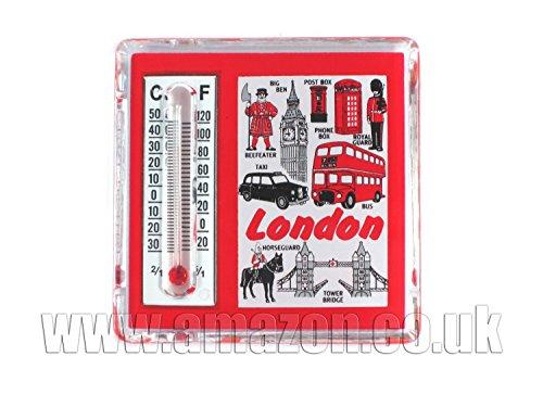 Termometro Fridge Magnet - Londra Tutto, Londra Souvenir da collezione
