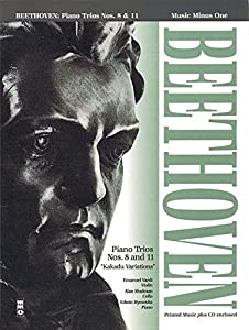 0: Beethoven: Piano Trios Nos. 8 & 11 (Music Minus One (Numbered)) by Hal Leonard Publishing Corporation