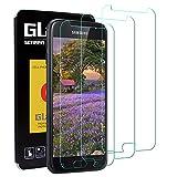 Solgan Panzerglas für Samsung Galaxy J3 2017 - [3 Stück] Schutzfolie für Samsung J3 2017, 9H Härte Displayschutzfolie [Blasenfrei, 3D-Touch, Leicht Anzubringen] für Samsung Galaxy J3 2017