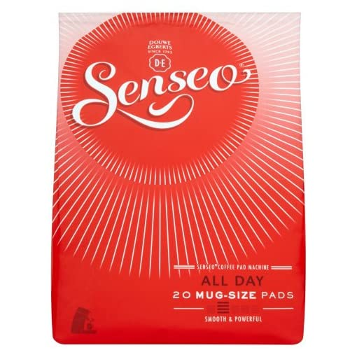 Douwe Egberts Senseo All Day Coffee 20 Pods (Pack of 5, Total 100 Pods)
