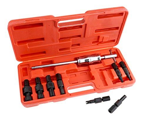 9X 8-32mm Sackloch Innenabzieher Set Entferner Slide Hammer intern Kit -