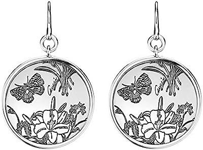 Gucci Flora pendientes de plata y turquesas YBD325908001