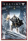 Close Up Destiny Poster Rise Of Iron (94x63,5 cm) gerahmt in: Rahmen rot