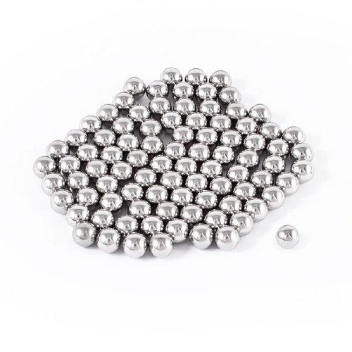 100 Pcs Bike Bicycle Wheel Bearing Steel Balls 7mm Diameter