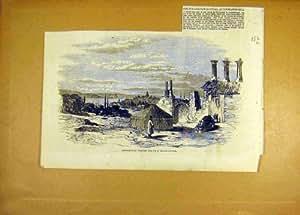 Constantinople A Proposé l'Hôpital Anglais 1855 de Site