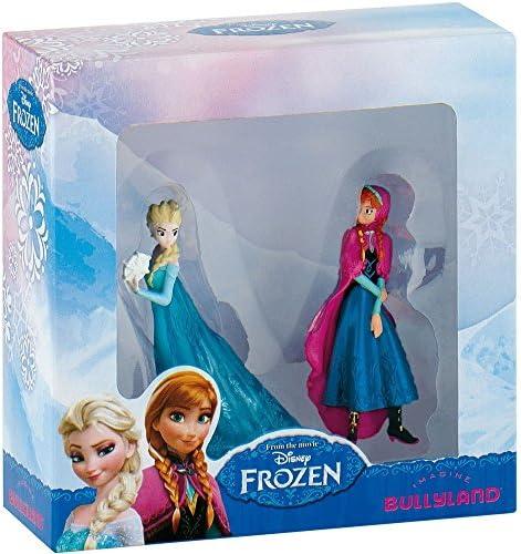 Bullyland - B13063 - Coffret 2 figurines Anna Et Elsa - La Reine Des Neiges Disney | à Gagnez Un Haut Admiration