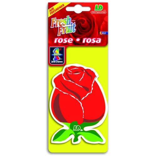Preisvergleich Produktbild Fresh Fruit Papier Lufterfrischer Autoduft - Rose