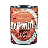 McPaint Terrassen Öl, Expresstrocknung und hoher UV-Schutz, wasserverdünnbar, speziell für Bangkirai-Holz, 2,5 L