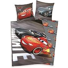 Herding Biancheria da letto di set Disney Cars 3, Cotone, Grigio, 200x 135cm