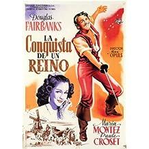 El exilio Póster de película español 11x 17en–28cm x 44cm Maria Montez Douglas Fairbanks Jr. Rita Corday Henry Daniell