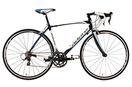KS Cycling Morzine de Adore 155A – Bicicleta de carretera, color blanco / negro / azul, ruedas 28″, cuadro 50 cm