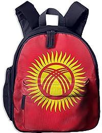 Flag of Kyrgyzstan Kid and Toddler Student Backpack School Bag Super Bookbag