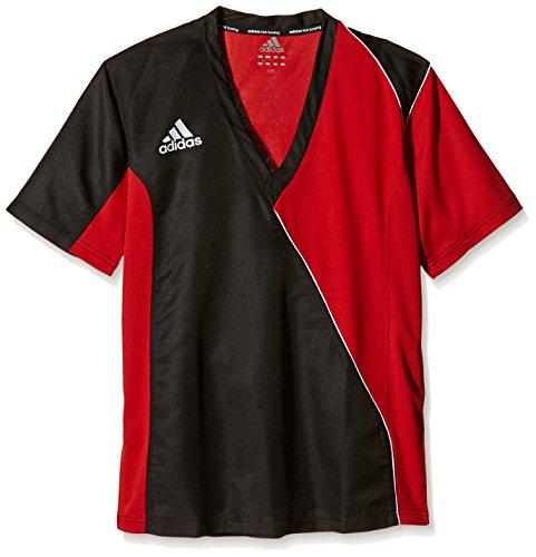 adidas T-Shirt Kickboxen, Schwarz/Rot, 150, adiTU010 Preisvergleich
