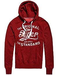 Superdry Classic Standard Hood, Sudadera para Hombre