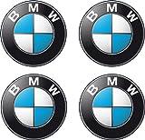 Aufkleber, Bogen 4 BMW Logo 4,5 cm Durchmesser