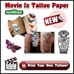Movie fx Papier Transfert Tatouage De...