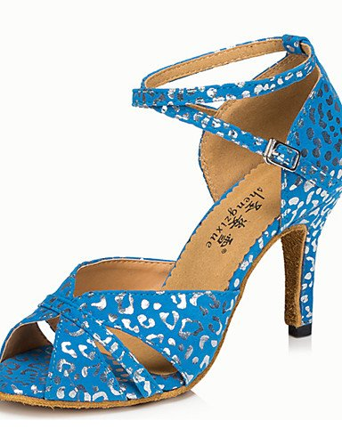La mode moderne Non Sandales Chaussures de danse pour femmes personnalisables en cuir Cuir /latine Chaussures de Talon pratique moderne US4-4.5/EU34/UK2-2.5/CN33