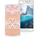 Coque Samsung Galaxy A3 2016 SM-A310F, AllDo Coque TPU Silicone pour Samsung Galaxy A3 2016 SM-A310F Etui Souple Flexible Gel Rubber Case Smooth Soft Cover Housse Ultra Mince Etui Poids Léger Lisse Couverture Anti Rayure Coque Protection Coquille Anti Choc - Oie&Amour