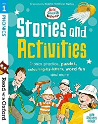 Read with Oxford: Stage 1: Biff, Chip and Kipper: Stories and Activities: Phonics practice, puzzles, colouring-by-letters, word fun and more
