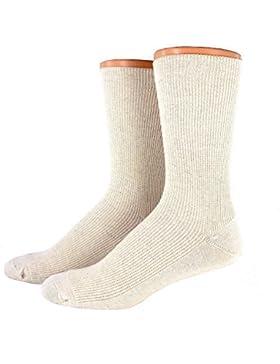 Herren Öko Baumwoll Socken ohne