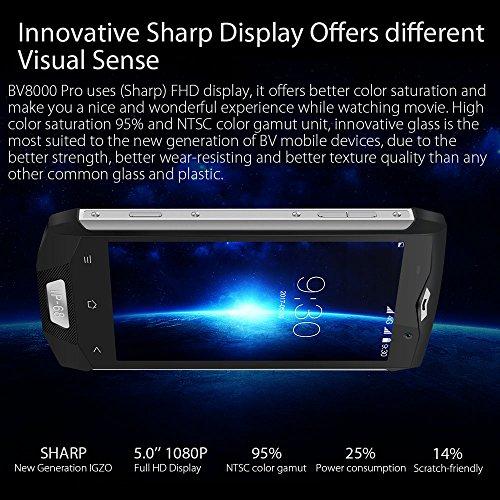 Blackview BV8000 Pro Tel  fonos M  viles IP68 Impermeable 6GB RAM 64GB ROM Octa Core Android 8 0 Smartphone libre   8   16MP C  mara 4180mAh Bater  a