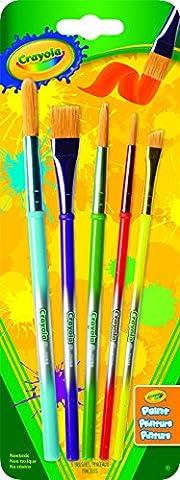 Crayola Art & Craft Brushes-5/Pkg