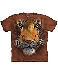 Visage de Tigre - T Shirt Enfant - 100% Cotton