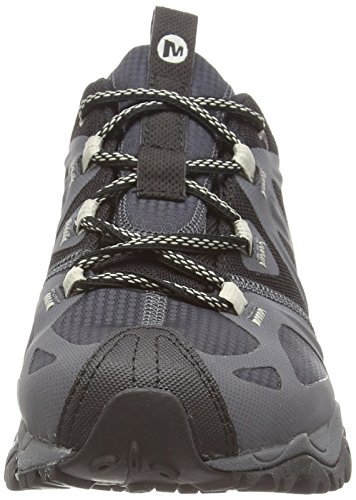 Merrell Grassbow Sport Gore-Tex, Chaussures de Football Homme Noir (Black/Silver)