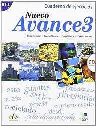 Nuevo Avance 3. Cuaderno de ejercicios (inkl. CD): Curso de español. Nivel B1.1