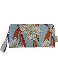 Oilily - Jolly Ornament Purse Lh15z, Carteras Mujer, Turquesa (Light Turquoise), 1x9x19 cm (B x H T)