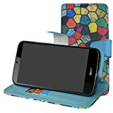 Acer Liquid Zest Plus Hülle, WoowCase Handyhülle Silikon