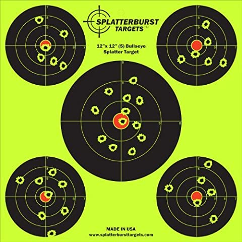 Pack-30,48 25 cm x cm (12 30,48 (12 Bullseye, motivo: bersaglio, paragrafo 5, è possibile (Bb Gun Target)