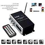 XuBa LEPY Mini Power Audio Amplificateur Hi-FI AMP MP3 FM USB SD AUX Voiture Maison