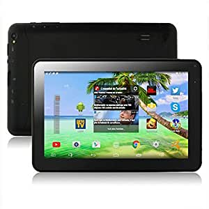 "Tablette PC tactile 9"" Quad Core Android 4.4 Kitkat Google Play HDMI Liseuse Bluetooth 8Go"