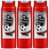 Old Spice STRONG SLUGGER Shower Gel/Duschgel 250ml 3er Pack