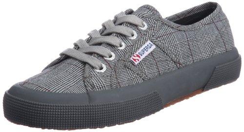 Superga 2750 Gallesu, Sneakers Basses mixte adulte, Multicolore (995 Grey/White), 45 EU