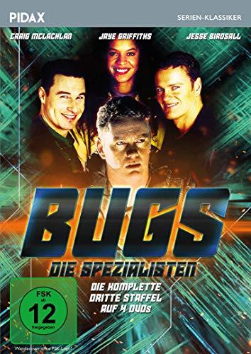 Bugs - Die Spezialisten, Staffel 3 / Weitere 10 Folgen der britischen Kultserie (Pidax Serien-Klassiker) [4 DVDs]
