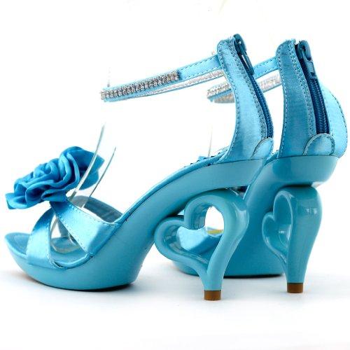 Show Story , Bride de cheville femme Bleu - Bleu ciel
