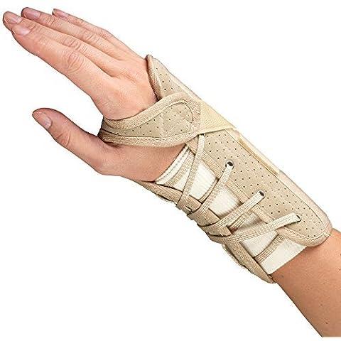 OTC Soft-Fit Suede Finish Wrist Brace, Right, Small by OTC
