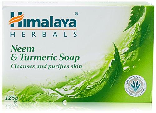 Himalaya Herbals Neem and Turmeric Soap, 125g (Pack of 6)