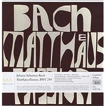 Matthäus-Passion [Vinyl LP]