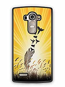 YuBingo Feathers to Birds Designer Mobile Case Back Cover for LG G4