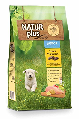 Natur Plus Trockenfutter Hundefutter JUNIOR (12 - Plus Natur Hundefutter