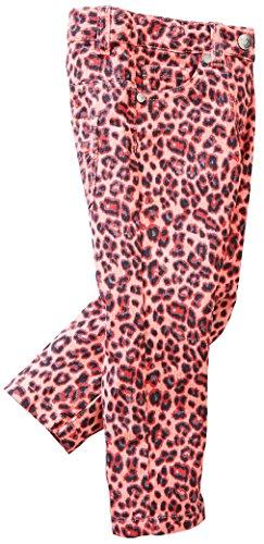 LUPILU® Kleinkinder Cordhose (Rosa Leo Muster, Gr. 86) (Moderne Slim Cord Pants)