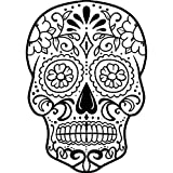A8 'Sugar Skull' Unmounted Rubber Stamp (RS00028065)